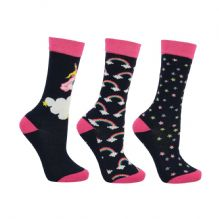 Little Unicorn Socks (Pack of 3)